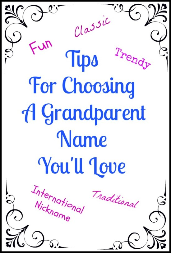 More than half of BabyCenter families went for good ol' favorites Grandma and Grandpa, the most popular grandparent nicknames by a mile. Second in the running were Nana and Papa, while Grammy, Granny, Granddad, and Gramps came in third.