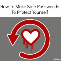How To Make Safe Passwords: Heartbleed Victim Or Coincidence?