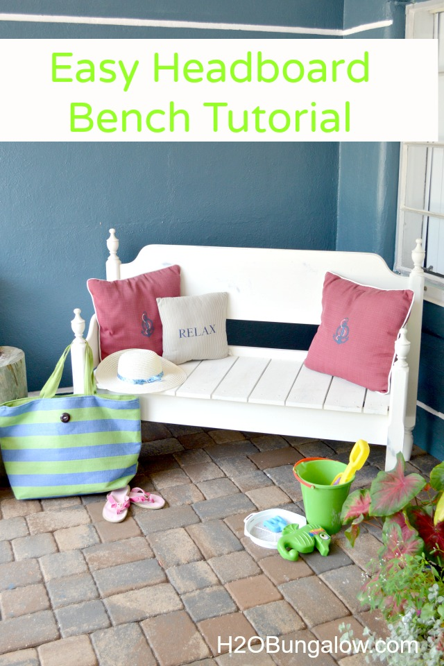 How to make an easy headboard bench for Easy to make headboards