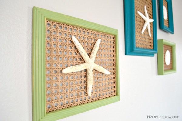 coastal seashell wall art. Black Bedroom Furniture Sets. Home Design Ideas