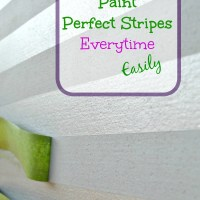 How To Easily Paint Stripes