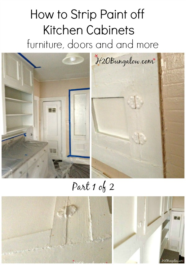 How to strip paint kitchen cabinets furniture and more for Best way to paint kitchen cabinets video