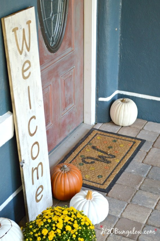 Indoor Outdoor Large Diy Wood Welcome Sign H20bungalow