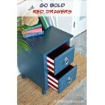 Blue-nightstand-with-deep-red-drawers-H2OBungalow  %Image Name