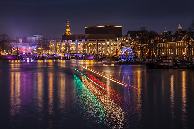 Amsterdam's Light Festival(Photo: vandaagopstap.nl)