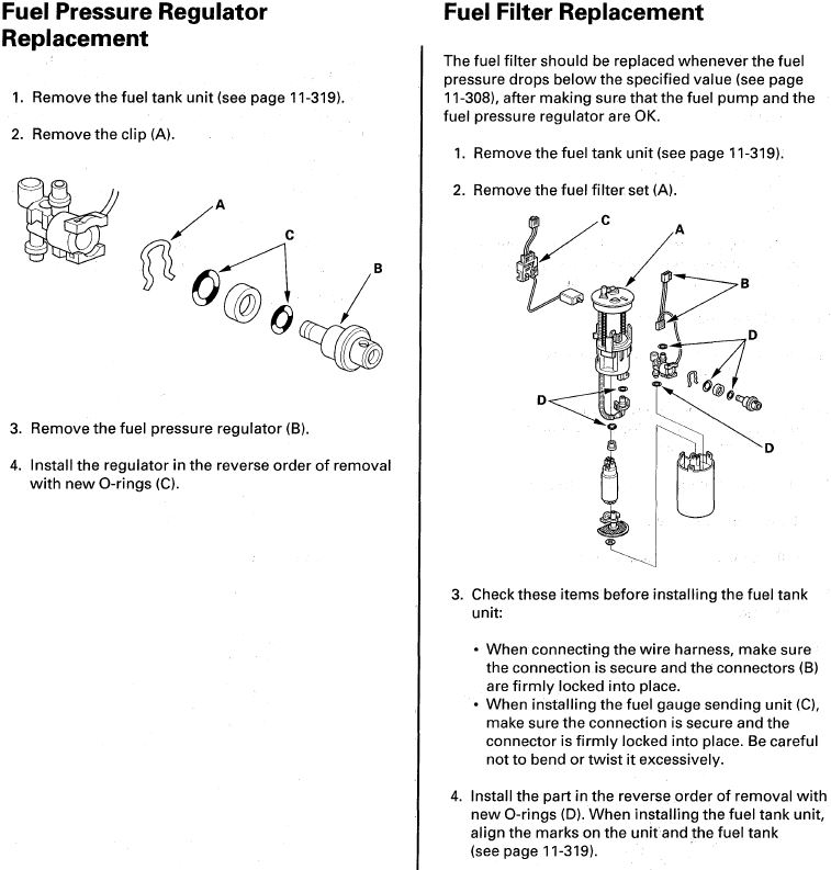 Occasional Stumbing, Rough Idle - Fuel Pump and/or Injectors