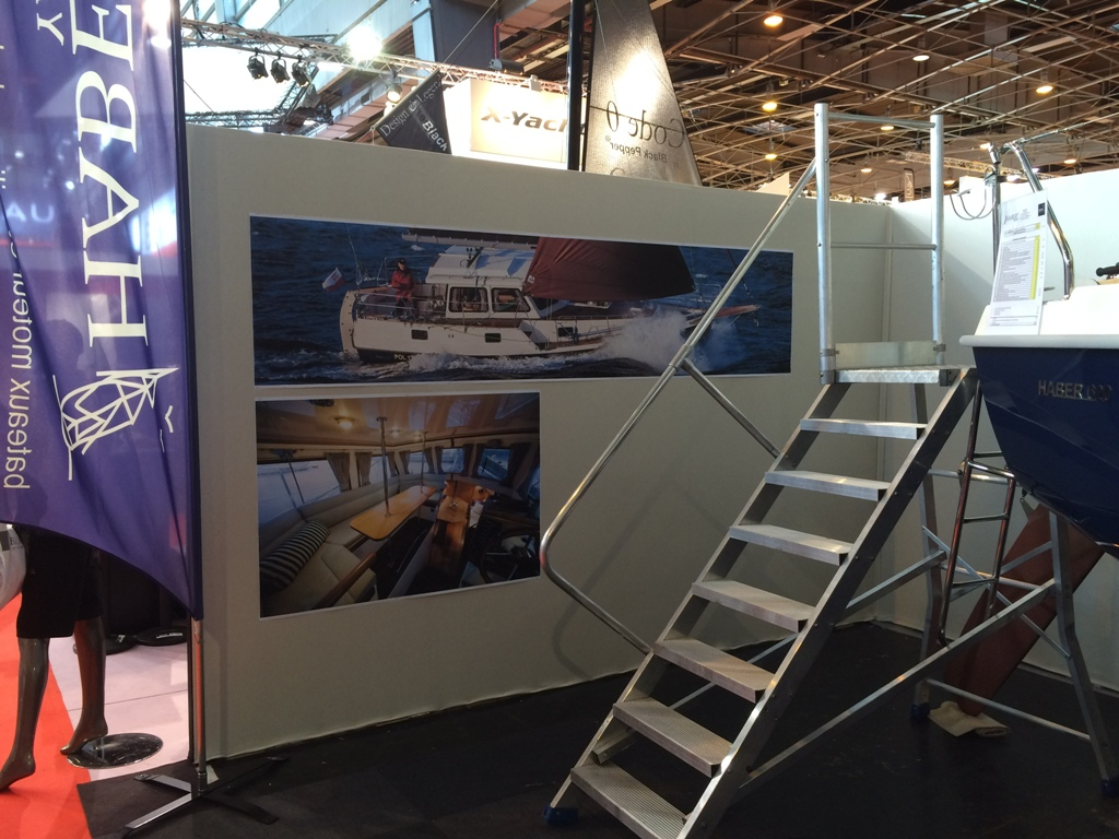 Salon Nautique International De Paris Haber Yachts Haber At The Salon Nautique International De Paris