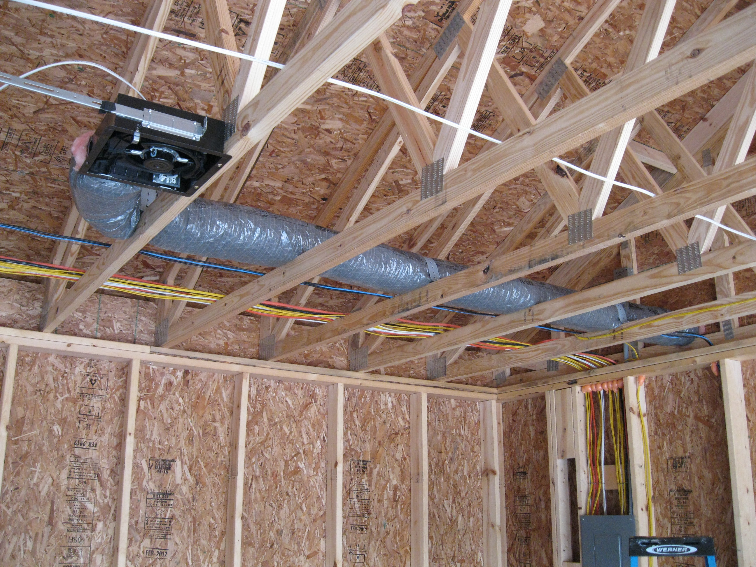 Bathroom Exhaust Fan Into Garage Ryan Mccoon Leed Ap H Habitat Gtr Evergreen House