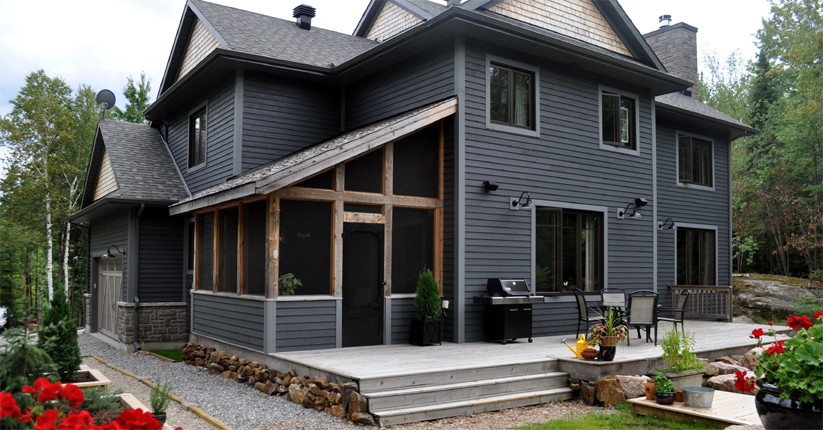 Facade Exterieure Synonyme Habitations Mapleridge Homes