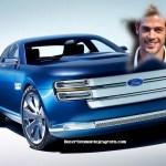 Fotomontaje de automóvil gratis