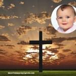 Fotomontaje de La Cruz de Jesus