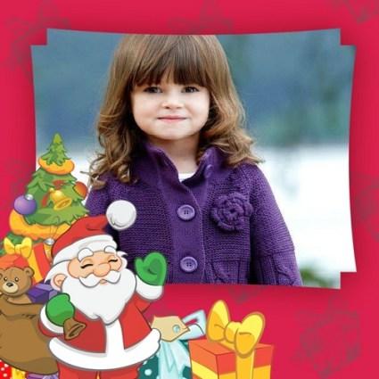 Fotomontaje de Papá Noél - Fotomontaje de Santa Claus para descargar gratis