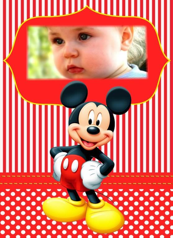 Fotomontajes de Minnie y Mickey Fotomontajes infantiles