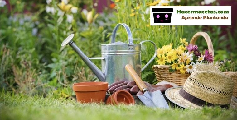 Materiales y Herramientas para Renovar tu jardin