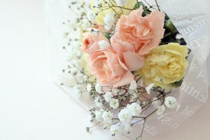 結婚退職する方や中途退職する方に贈る花束