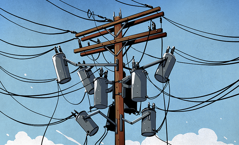 A Field Guide to the North American Utility Pole Hackaday
