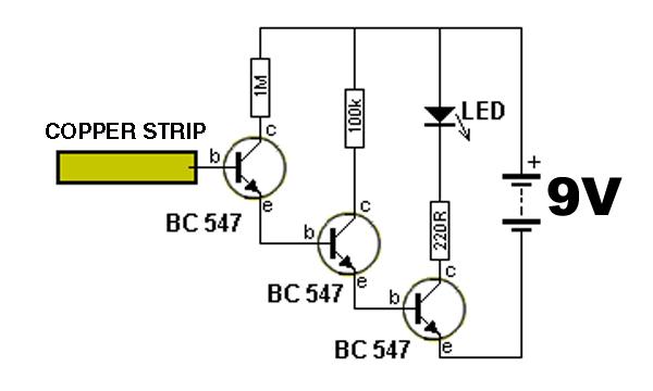 builds a simple noncontact voltage detector