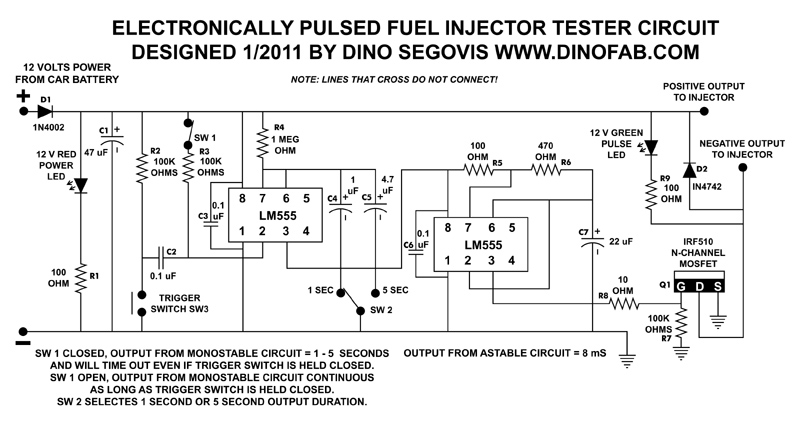 Fuel Injector Schematic - Wiring Diagram Online
