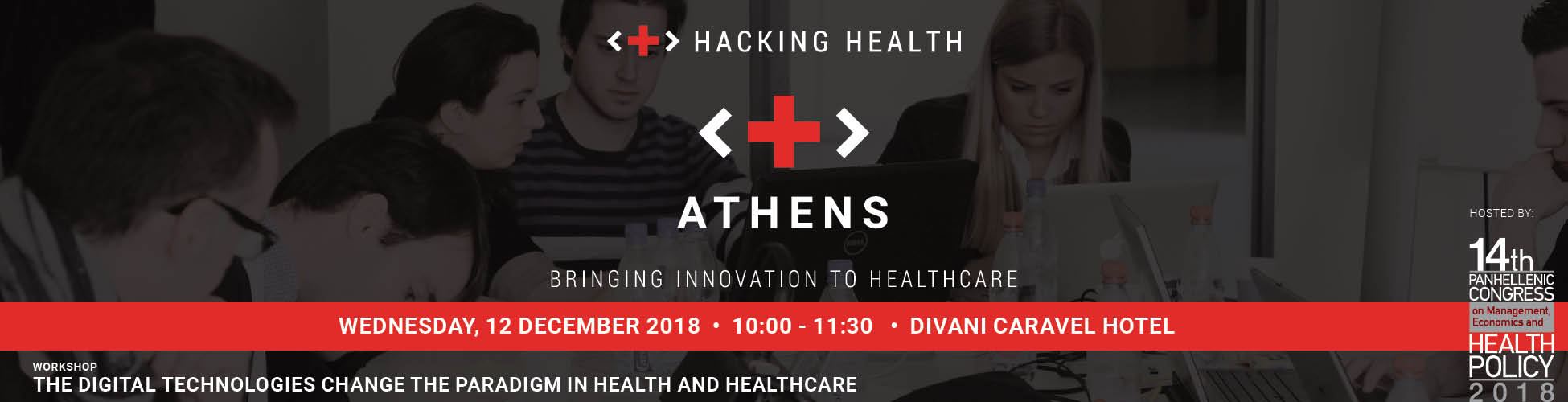 Workshop Towards Hacking Health Athens Hacking Health