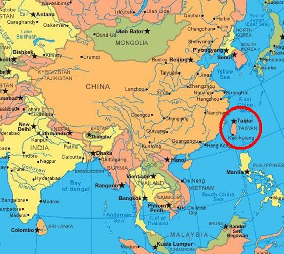 Pin by john caudill on FORMOSA VS TAIWAN Pinterest Taiwan - copy large world map for the wall