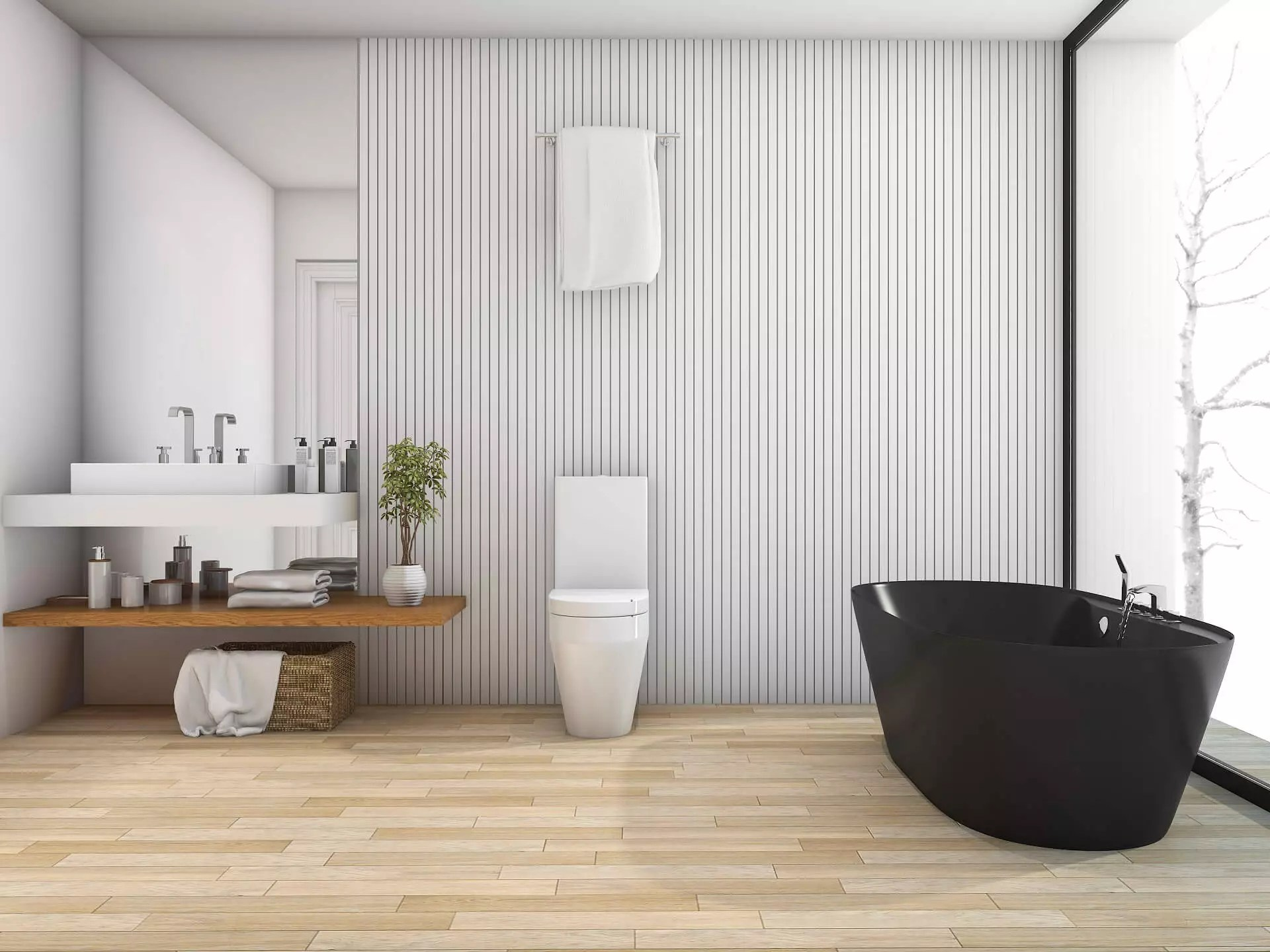 Bathroom Cladding Panels For Walls And Ceiling Types Advantages And Recommendations Uk Hackrea