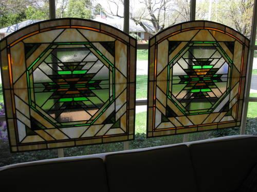 Antique Leaded Art Glass Windows For Sale - Online Auctions