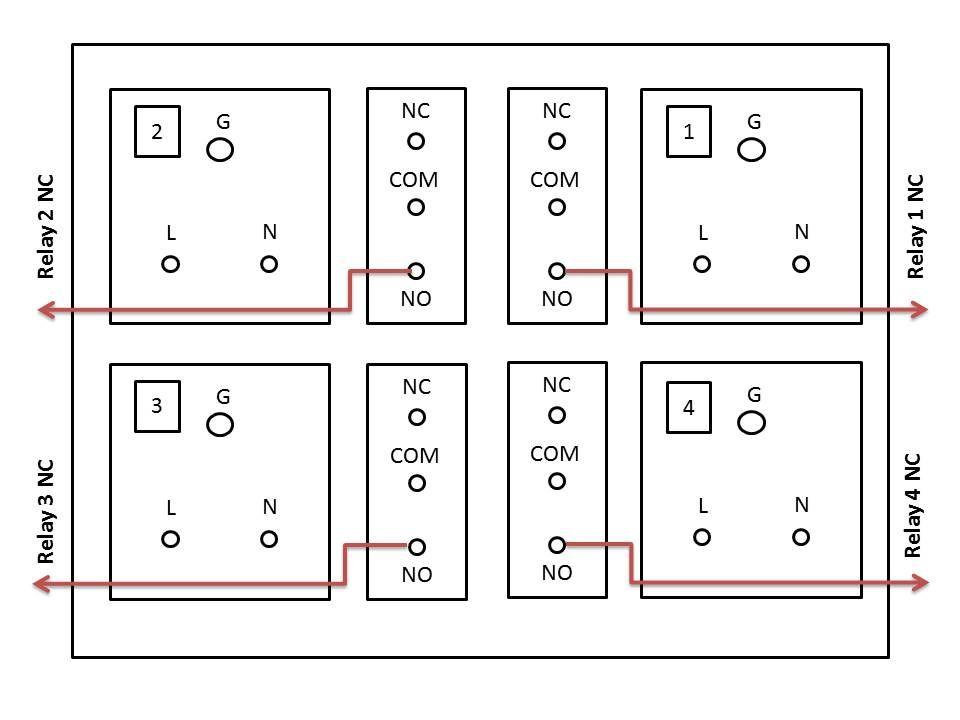 arduino wifi relay switch