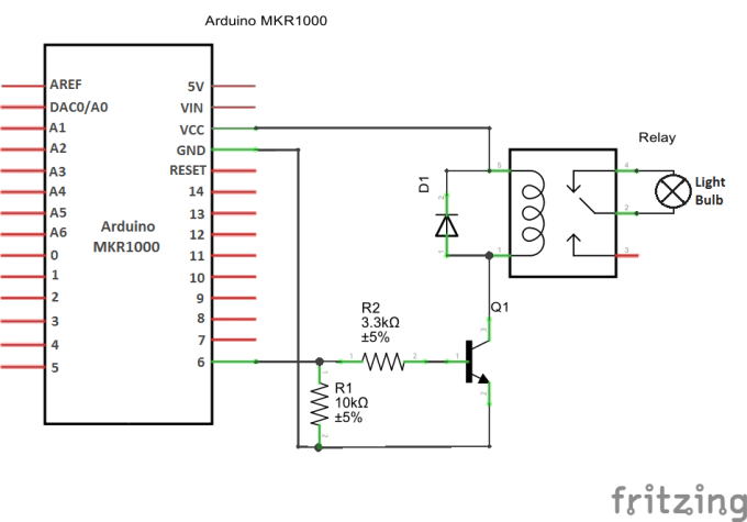 home automation fan control with arduino