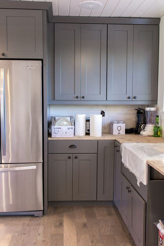How To Fit Kitchen Wall Cabinets 32 Kitchen Cabinets Around Refrigerator For More Storage Space