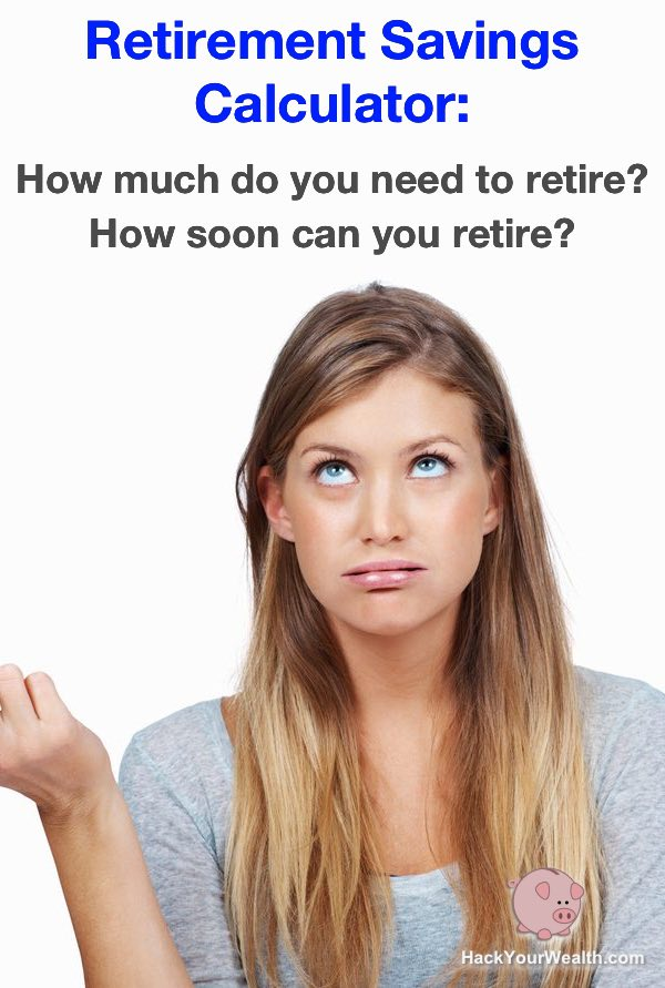 Retirement Savings Calculator How much do you need to retire and