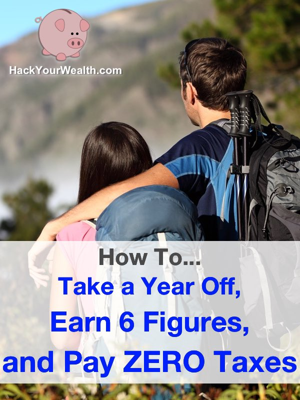 Want to take a year off? Why not do it while making 6-figures and