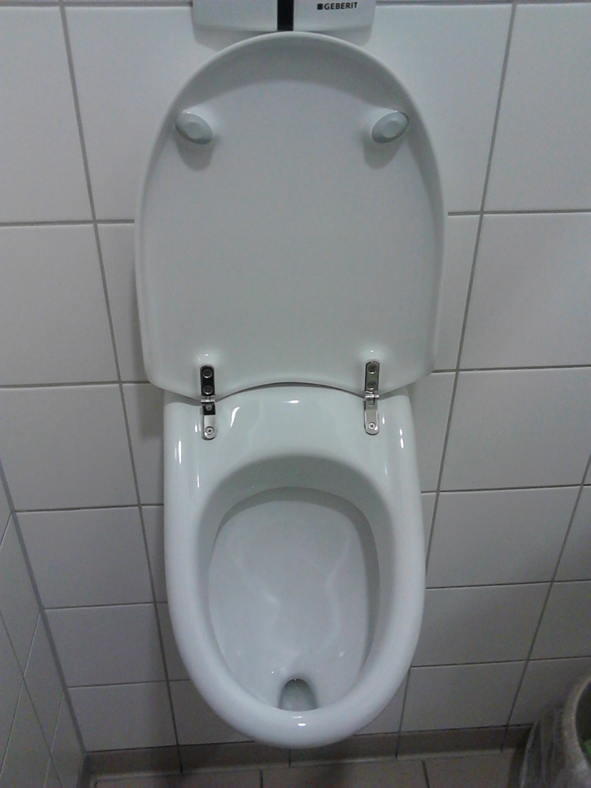 Wc Urinal Kombination Urinal Mit Deckel Hadley B Jones