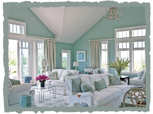 Coastal Chic Coastal Beach Decor - Hadley Court Interior Design - coastal home decor
