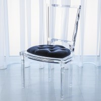 Luxury Lucite Adds Glamour and Sparkle to Timeless Interiors