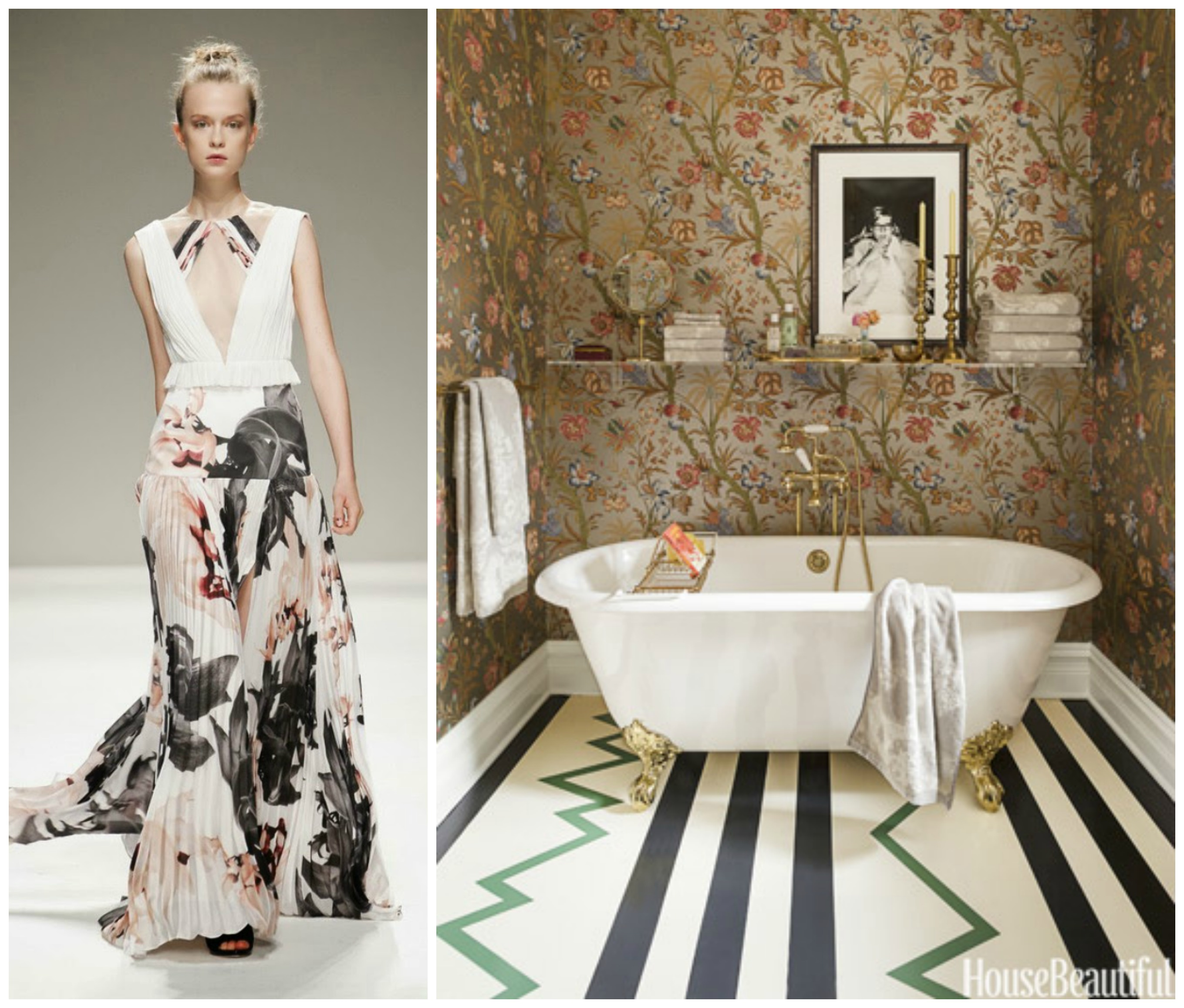 Fashion Bathroom Inspiring Couture Fashion Paired With Luxury Bathrooms