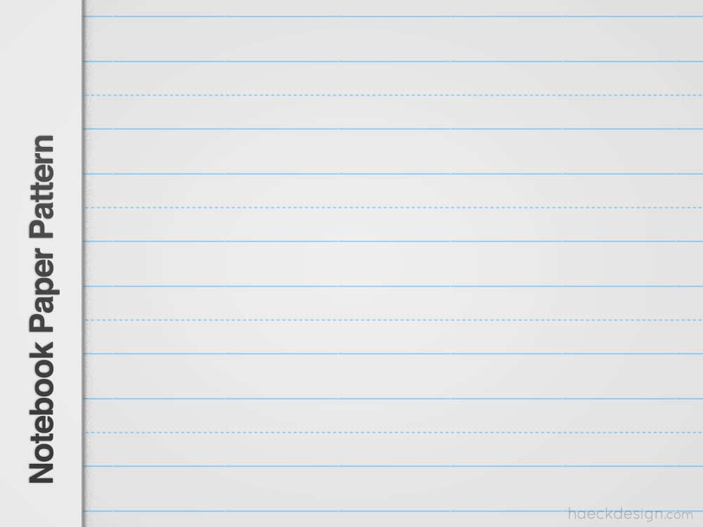 Notebook Paper PNG Pattern Repeatable Patterns - notebook paper download