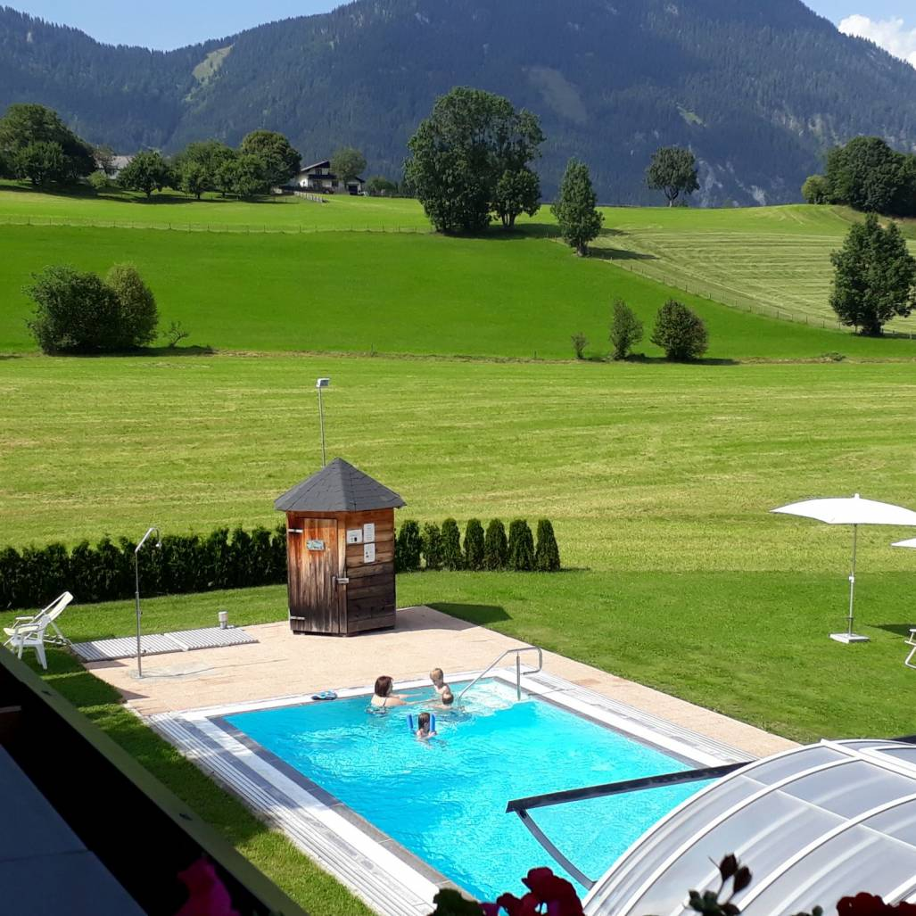 Pool Im Garten Winter Hotel With Heated Swimming Pool Sunbathing Area And Biotope In