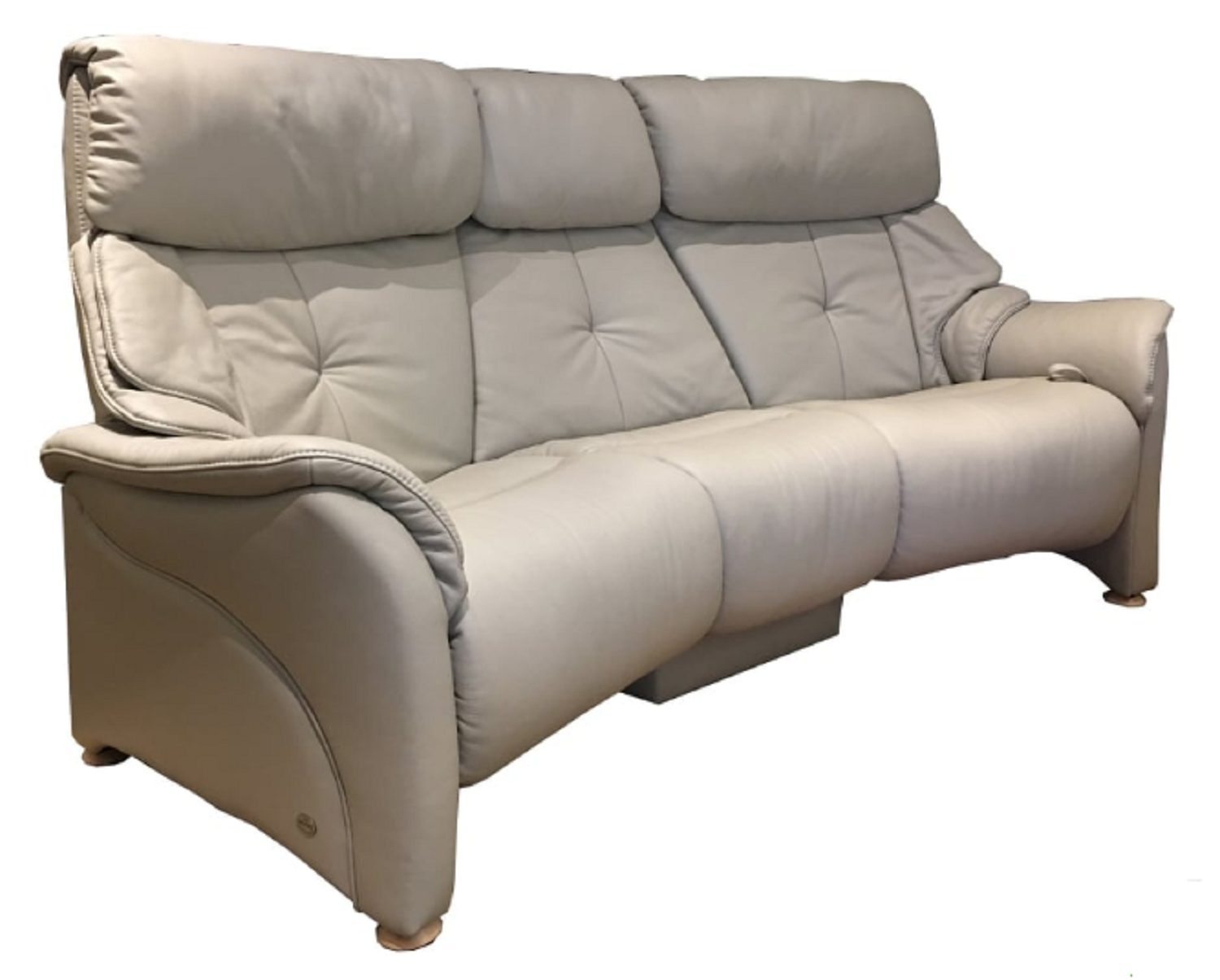Himolla Chester Trapezodial 3 Seater Reclining Sofa With Tiltable Table 4246 Sofas Hafren Furnishers