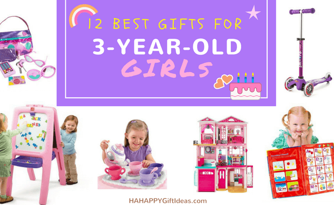 Best Gifts For A 3 Year Old Girl Fun Educational