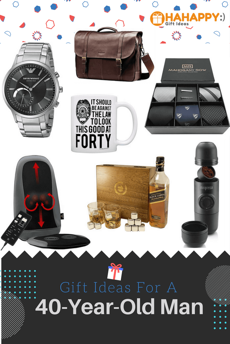 40 Year Old Man Hahappy Gift Ideas SaveEnlarge
