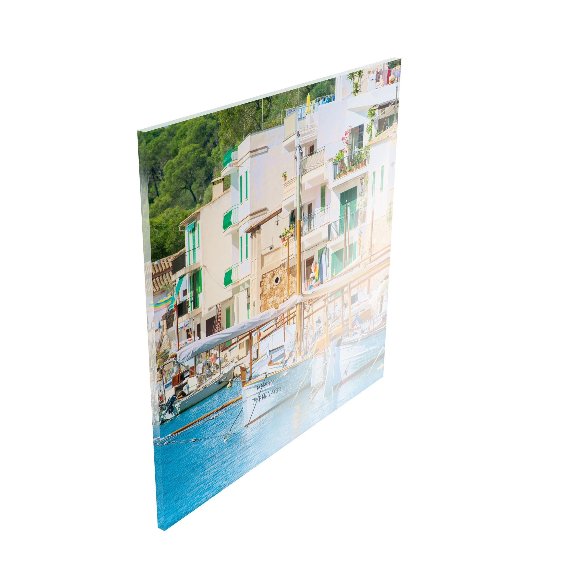 Direktdruck Hinter Acrylglas Brillante Farben Und
