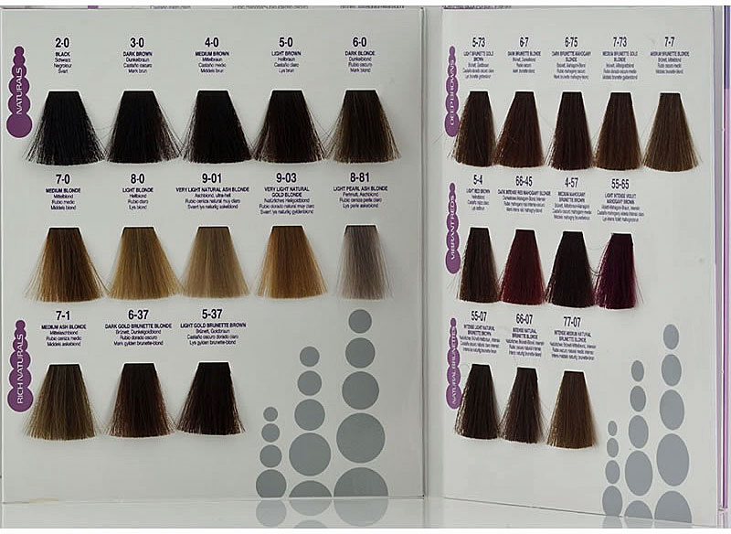 Fall In Love With Hair Color Chart Creme color, Colour chart and - hair color chart