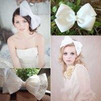wedding hair bows trend alert bridal hair bows hair comes ...
