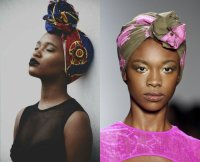 Black Women Hairstyles With Head Wraps To Show Off ...