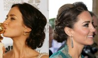 Celebrity Inspired Fancy Wedding Updo Hairstyles To Plan
