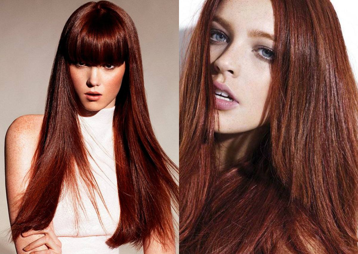 Tönung Mahagoni Complete Palette Of Red Hair Colors Universe Hairstyles