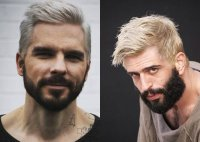 Platinum Blonde Men's Hairstyles To Be The Trend ...