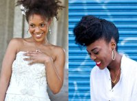 Get To Know Natural Hair Wedding Hairstyles 2017 | ANDYBEST TV