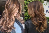Espresso Hair Color With Caramel Highlights | Find your ...
