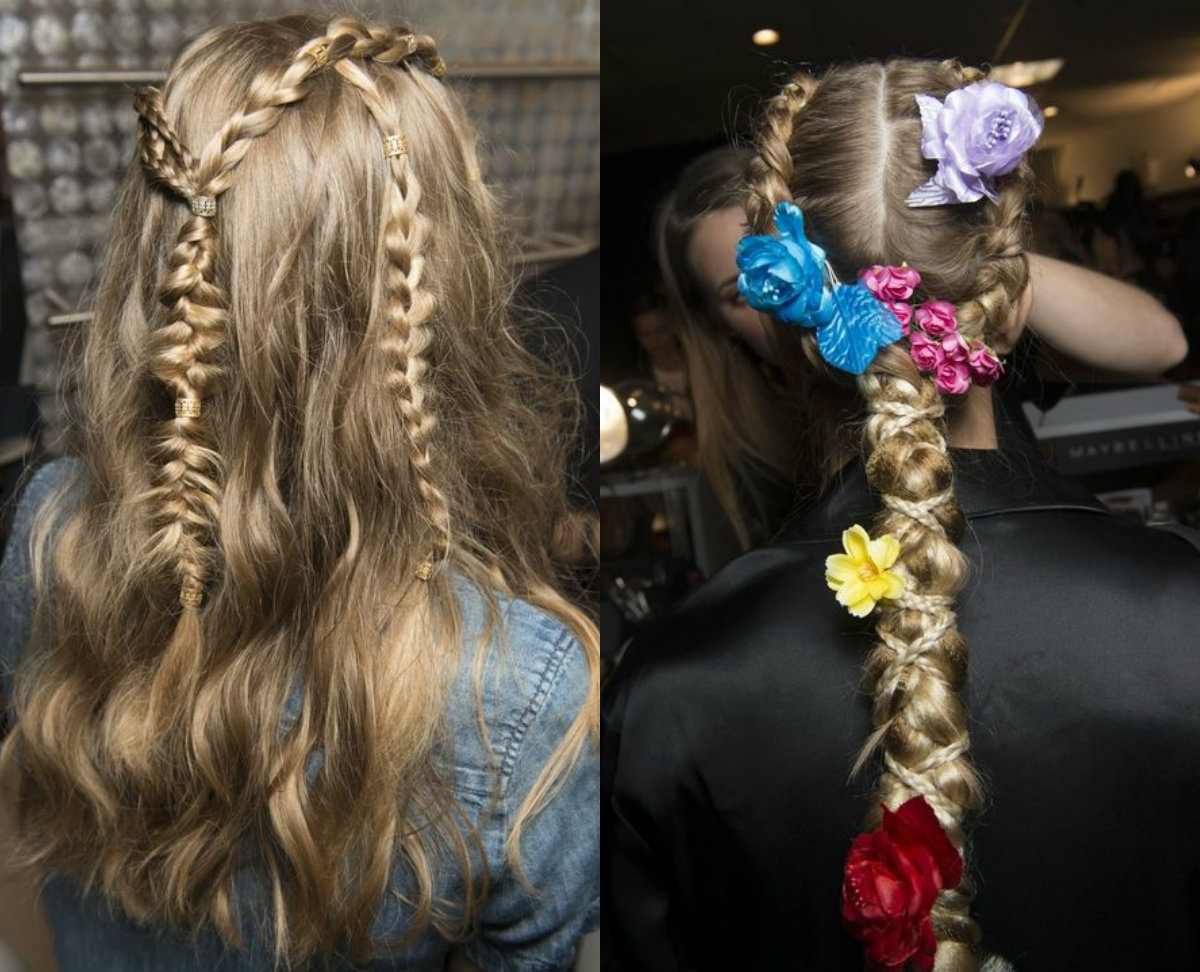 Coiffure Summer 2018 Runway Inspired Spring 2018 Hair Trends Hairdrome